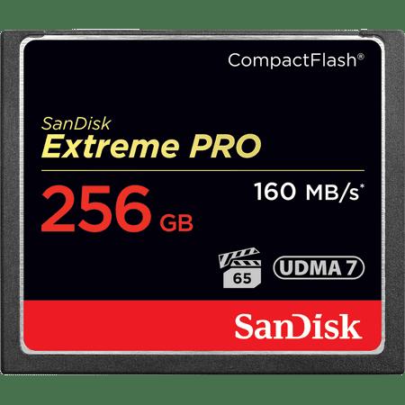 SanDisk pomnilniška kartica Extreme PRO, 256 GB, VPG-65 (SDCFXPS-256G-X46)