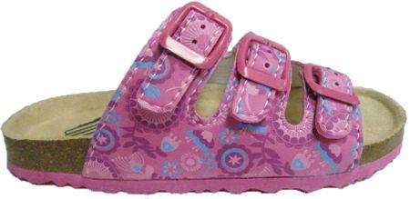 V+J dívčí pantofle 29 růžová