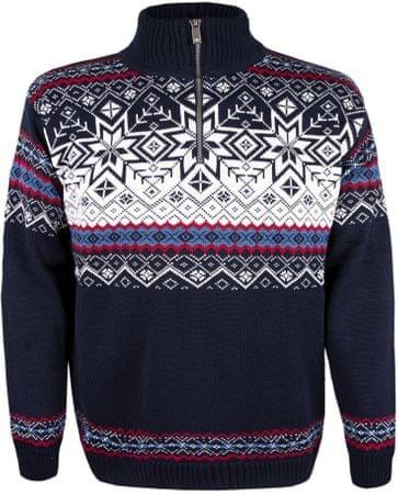 Kama merino pulover ama 4071, M, temno moder