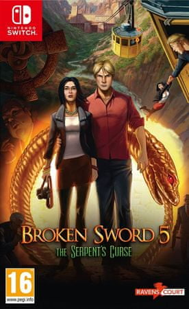 Revolution Software igra Broken Sword 5: The Serpent's Curse (Switch) – datum izida 21.9.2018
