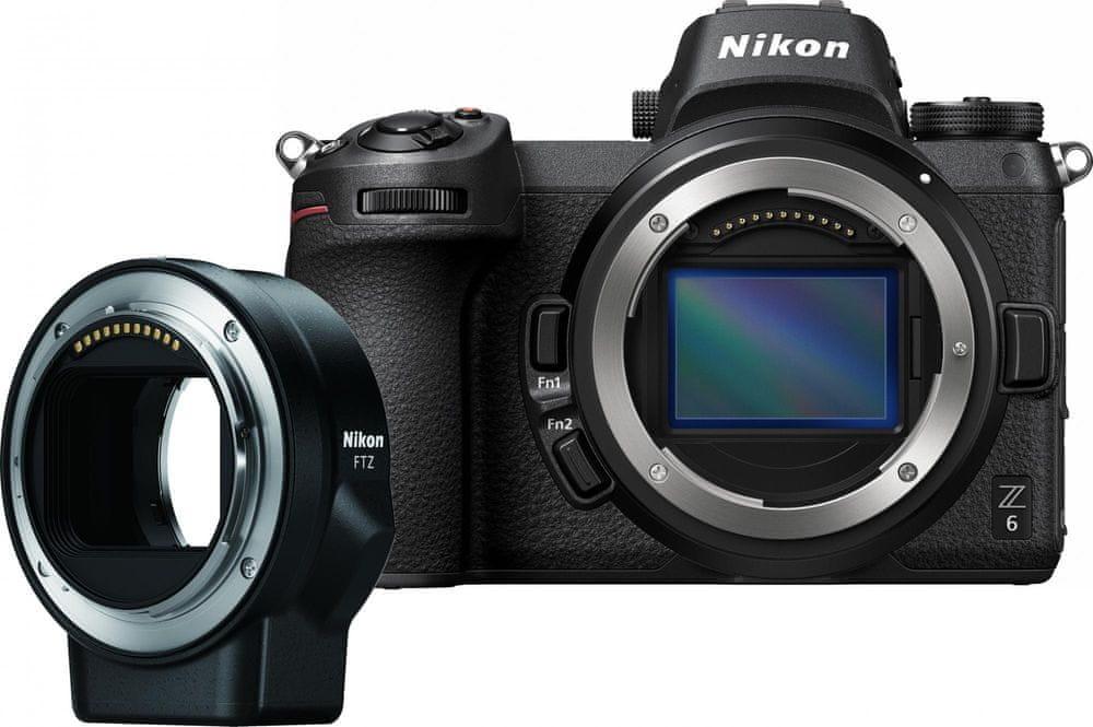Nikon Z6 + FTZ Adapter Kit (VOA020K002)