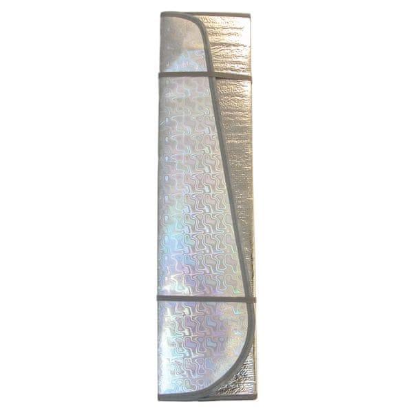 CarPoint Sluneční clona aluminiová pevná - velikost L 145 × 70 cm