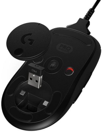 Logitech G PRO brezžična gaming miška