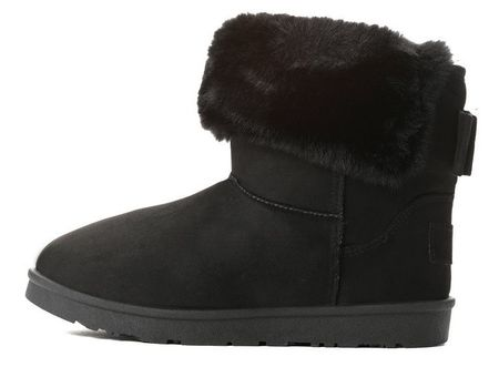 Vices damskie buty zimowe, 40, czarne