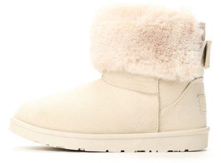 Vices damskie buty zimowe, 40, beżowe