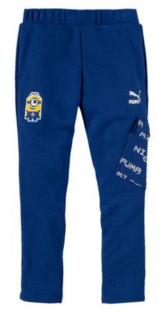 Puma chlapecké tepláky Mimoni 104 modrá