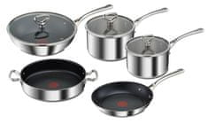 Tefal RESERVE Collection 3 kuhalni set, 8 kosov E475S544