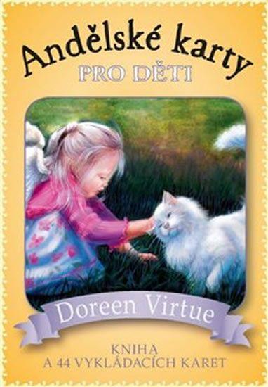 Virtue Doreen: Andělské karty pro děti - Kniha a 44 karet
