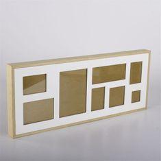 Danish Style Nástěnný rámeček pro 8 fotek Frame, 61 cm, bílá