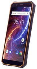 myPhone HAMMER ENERGY 18X9 LTE, 3/32GB, Dual SIM, oranžovo-černý