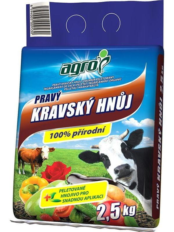 AGRO CS Kravský hnůj 2,5 kg