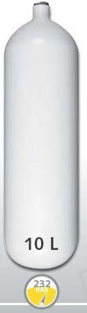 EUROCYLINDER Lahev ocelová 10 L průměr 171 mm 230 Bar