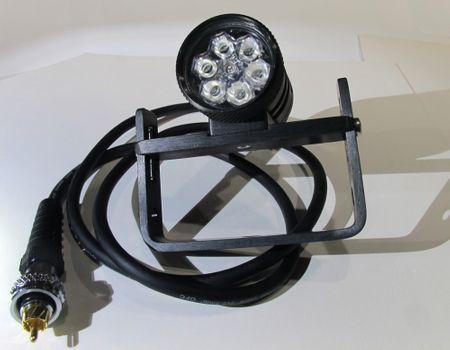 GRALMARINE Lampa LED 7, 70 W hlava GRALMARINE