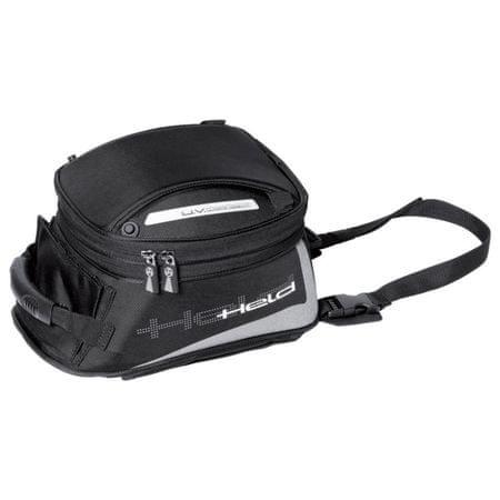 Held motocyklový Tankbag  AGNELLO S-objem 8-12l, čierny, Magnetický systém