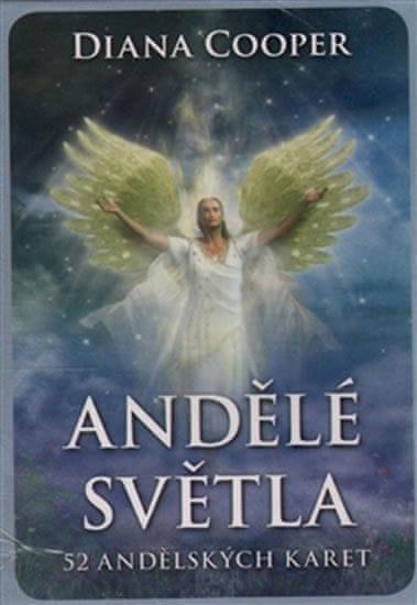 Cooper Diana: Andělé světla - 52 andělských karet