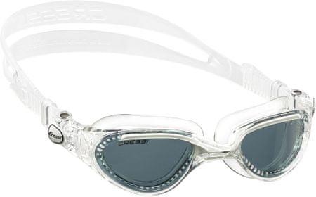 Cressi Okuliare plavecké FLASH, tmavý zorník/trans/biela
