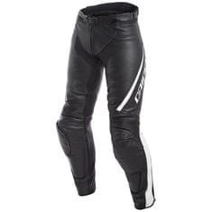 Dainese DELTA 3 pánské kožené prodloužené kalhoty na motorku