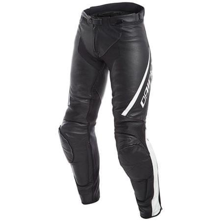 Dainese dámske kožené moto nohavice  ASSEN LADY vel.40 čierna/biela