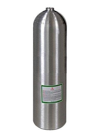 LUXFER Lahev hliníková S 80 (11,1L) průměr 184 mm 207 Bar, stříbrná