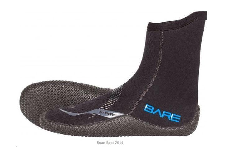 BARE Boty 5mm - model 2014, S(39)/7