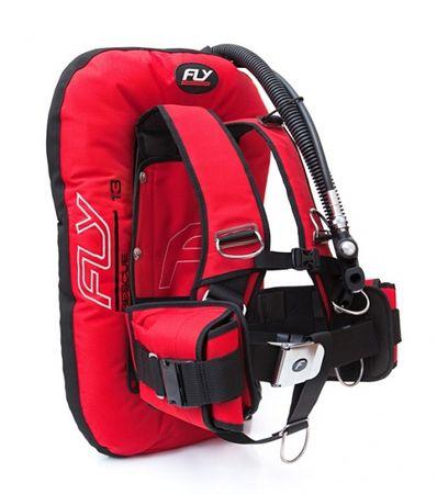 FLY Krídlo FLY 13D Rescue comfort set, nerezová chrbtová doska