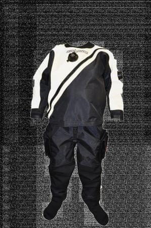 Oblek trilaminátový SOLO LIGHT - barva dle výběru, Dive system, bílá, M