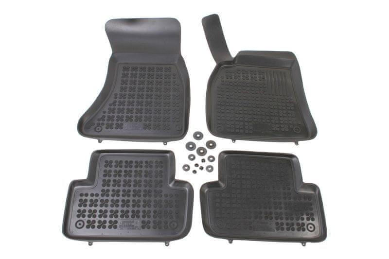 REZAW-PLAST Gumové koberce, sada 4 ks (2x přední, 2x zadní), Audi A4 (B8) 2008-2016, Audi A5 Sportba