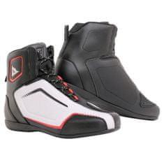 Dainese kotníkové moto boty  RAPTORS AIR černá/bílá/červená