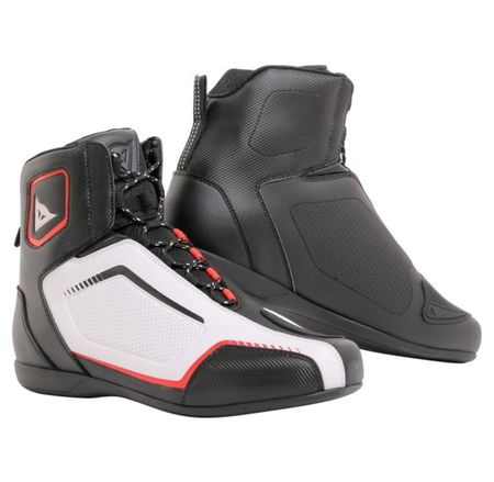dad602a24fb Dainese kotníkové boty RAPTORS AIR vel.45 černá bílá červená