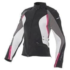 Dainese dámska skúter/moto bunda  ARYA TEX LADY vel.44 čierna/sivá/ružová, textil