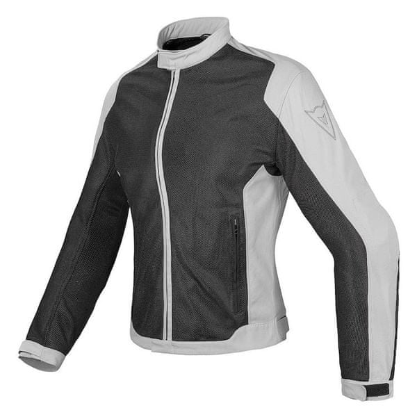 Dainese bunda dámská AIR-FLUX D1 LADY TEX vel.46 černá/šedá, textilní