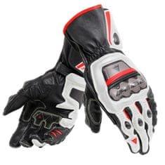 Dainese pánské rukavice na motorku  FULL METAL 6 bílá/černá/červená