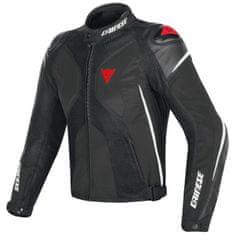 Dainese pánska šport moto bunda  SUPER RIDER D-DRY čierna/biela/červená