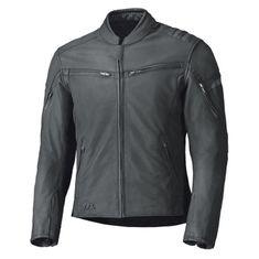 Held pánska letná kožená moto bunda  COSMO 3 čierna, koža (TFL Cool system)