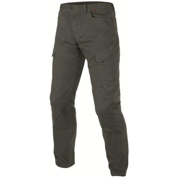 Dainese pánské kalhoty KARGO vel.30 khaki, textil