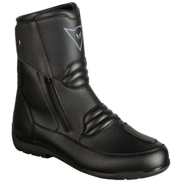 Dainese kotníkové boty NIGHTHAWK D1 GORE-TEX vel.42 černá, kůže (pár)