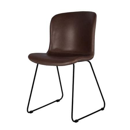 Danish Style Jídelní židle Serena (SET 2 ks), vintage hnědá