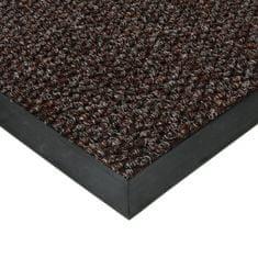FLOMAT Hnědá textilní zátěžová čistící vnitřní vstupní rohož Fiona, FLOMAT - 1,1 cm