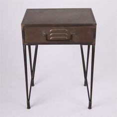Danish Style Noční stolek se zásuvkou Enjoyed, 70 cm