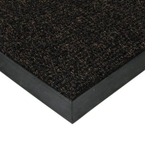 FLOMAT Černá textilní zátěžová čistící rohož Catrine - 500 x 300 x 1,35 cm