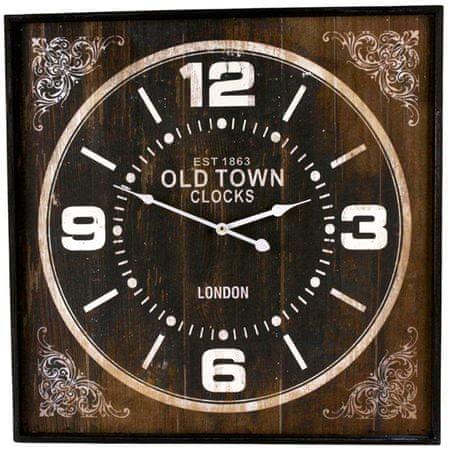 Danish Style Nástěnné hodiny Old Town hranaté, 60 cm