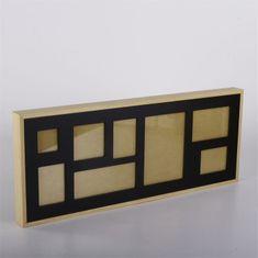 Danish Style Nástěnný rámeček pro 8 fotek Frame, 61 cm, černá