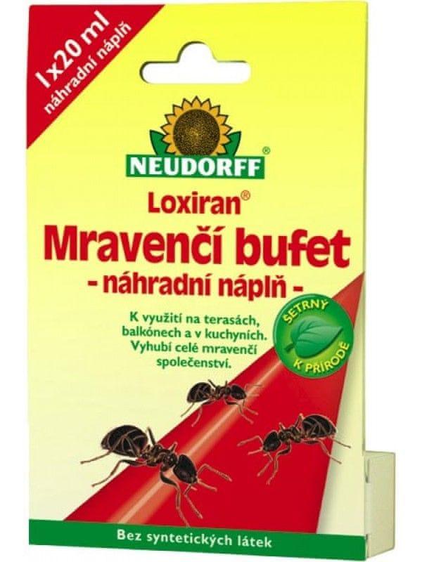 Neudorff Loxiran Mravenčí bufet náhradní naplň 20ml