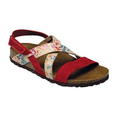 SANTÉ Zdravotní obuv dámská IB 7209 červeno-bílá (Velikost vel. 41 ... b969c7e7c5