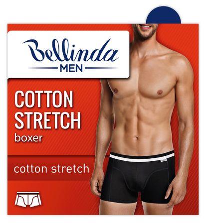 Bellinda COTTON STRETCH BOXER šedá M