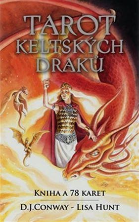Conway D. J., Hunt Lisa: Tarot keltských draků - kniha a 78 karet