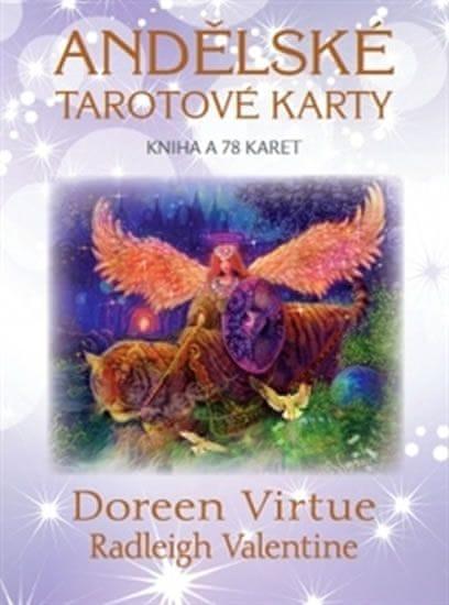 Virtue Doreen: Andělské tarotové karty - Kniha a 78 karet