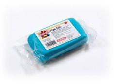 Kelmy Potahovací hmota 100 g - nebesky modrá