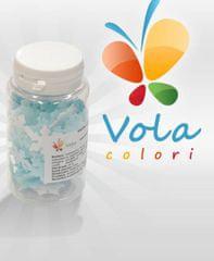 Vola colori Vločky  z jedlého papíru 10g - bílo-modré