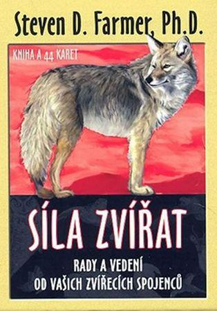Farmer Steven D.: Síla zvířat - Kniha a 44 karet